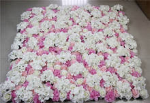 2017 Free Shipping-mix color-10pcs/lot Artificial silk rose flower wall wedding background lawn/pillar market decoration