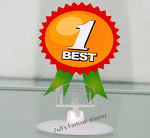 20pcs Free shipping Disc bases plastic Pop clip display sign label holder price tag display rack shelf advertising spring clip