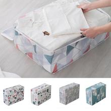 Printing Household Box Waterproof Clothes Organizer Storage Box Underwear Bra Packing Makeup Cosmetic Storage Holder Travel Bag(China)