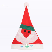 6 PCS/lot Children Adult Christmas Hats Gifts For Crafts Santa Claus Cap Dress Up Hat Headdress Gift For Christmas Party Or Home