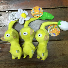 "Pikmin Game Toy Plush doll home Decor toy stuffed plush doll toy Set of Yellow Flower Leaf Bud 7"" 18cm"