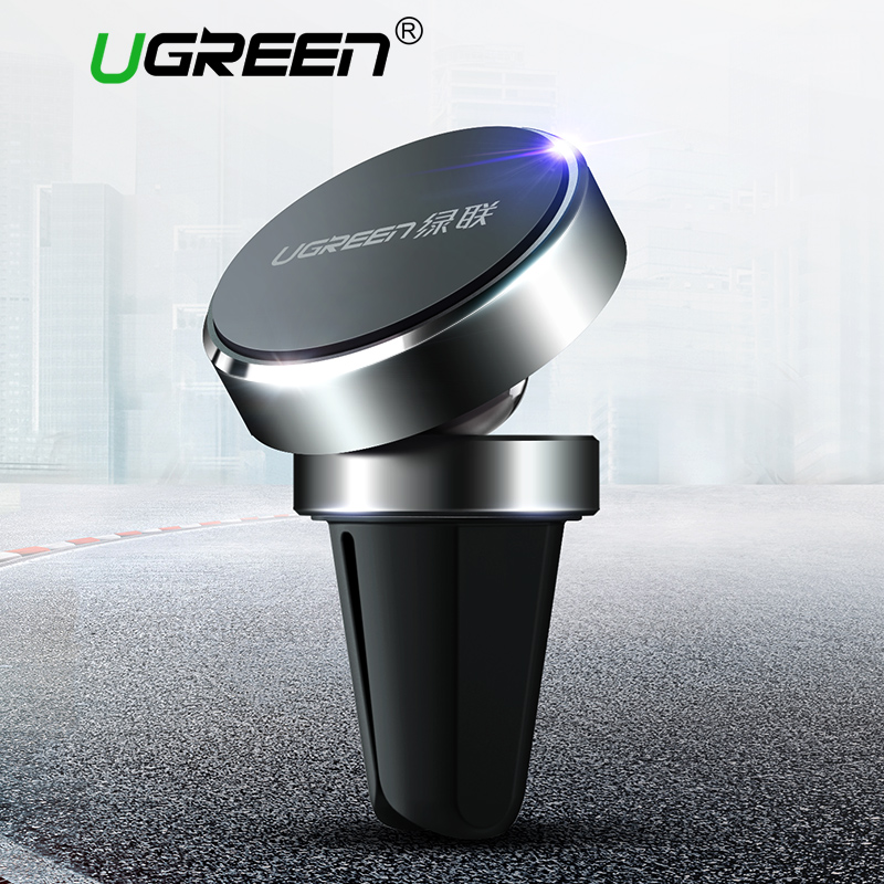 Ugreen Universal Car Holder Magnet Holder Stand for iPhone 6 7 Samsung 360 Degree Mount Holder GPS Magnetic Mobile Phone Holder(China)