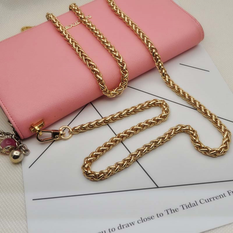 woman fashion bags accessory chain fashion new wallet accessroies chain handbag Solid Chain handle shoulder bag strap (13)