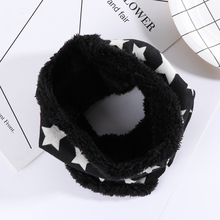 1 PC Fashion Children Baby Kids Boys Girls Winter Warm Scarf Soft Cotton Five Stars Print Ring Loop Scarves Neck Warmers(China)