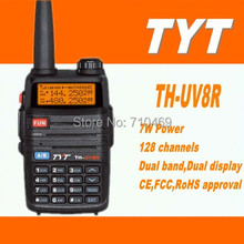 DHL freeship+TYT TH-UV8R midland handy  talkie dual band radio vhf uhf walkie-talkie transceiver intercom 136-174mhz 400-520Mhz