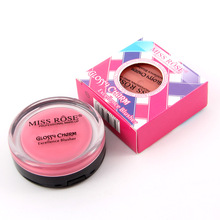 New HOT Blush Cosmetic Natural Cheek Blusher Palette Color MakeUp Face Blush Red(China)