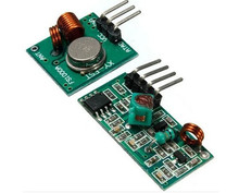 Best prices 1 pair (2pcs)433Mhz RF transmitter and receiver link kit for Arduino/ARM/MCU WL