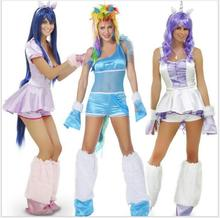 Christmas Carnival Games Unicorn costumePony Role Playing Outfits Sexy Animal Costumes For Women Halloween Cosplay Costume Adult