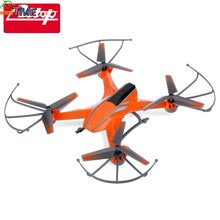 New Bright Orange Color Design 6 Axis Gyro RTF Remote Control Quadcopter ATTOP YD - A8 2.4G 4CH RC Toy Christmas Birthday Gift
