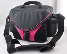 pink camera Camcorder BAG case for Canon EOS Nikon Sony Fuji Olympus camera DV VCR light lens bags