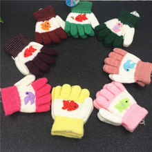 pudcoco Newest Arrivals Hot Infant Newborn Toddler Kids Magic Gloves Mittens Kid Stretchy Knitted Winter Warm Gloves Girl Boy(China)