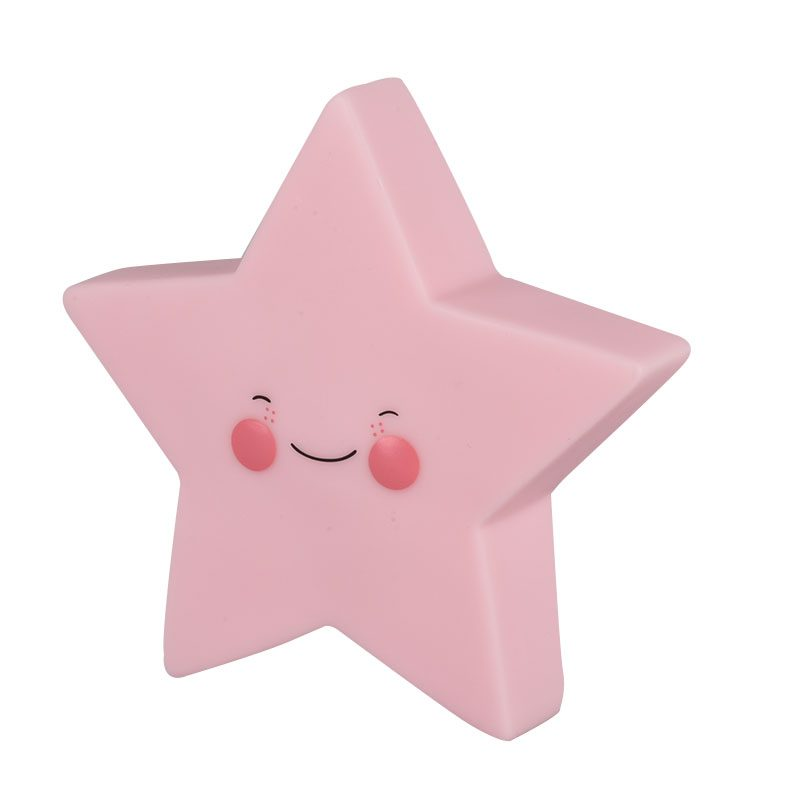Creative Adurable Novelty Star Night Light Kids Bedsibe Led Lamp For Children Baby Birthday Christmas Toy Gift Home Decoration