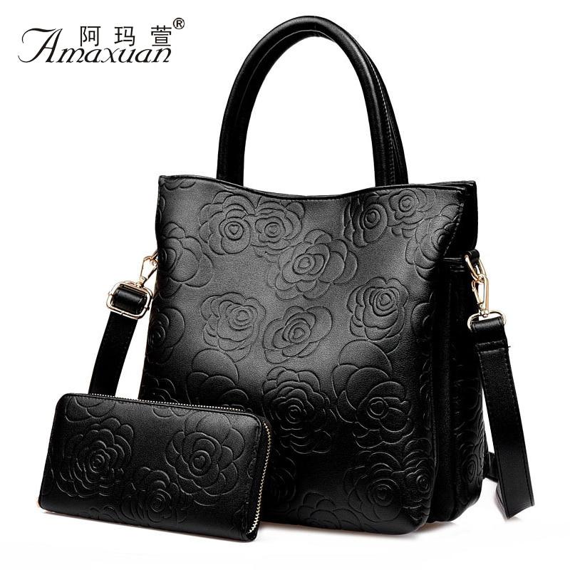 Floral Women Messenger Bag European Style Women Composite Bag PU Leather Women Handbag With Flower Pattern 2015 Bolsas BH646<br><br>Aliexpress