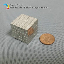 216 pcs N42 Block 5x5x5 mm NdFeB Magnet Cube Magic Toy Neodymium Magnets Rare Earth Magnets Permanent(China)