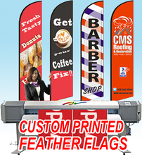 Free ship Graphic custom printing for Feather flag beach flag banner graphic replacement advertising, promotion, celebration(China)