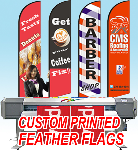 Free ship Graphic custom printing for Feather flag banner graphic replacement advertising, promotion, celebration event(China)