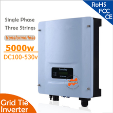 5000W Grid Tie String Inverter with Wide Input DC150-530v to 220v 60Hz, RS485 port for residential and commerical PV grid system(China)