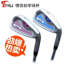 Brand TTYGJ. Single 7 IRON Regular Flex for lover. 7iron golf club steel or carbon shaft. golf club #7 Lovers suits(China)