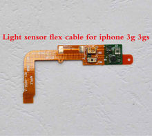 5pcs/lots High Quality Light Sensor Flex Cable Repair Parts For iphone 3g 3gs Replacement + Fast Shipping