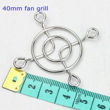 "10pcs/lot PC DC Fan Grill Protector Metal Finger Guard Cover 40mm 4cm 1.57""(China)"