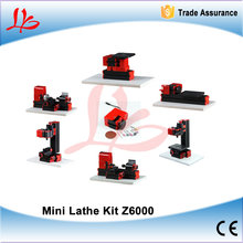 6 in 1 Mini Lathe Z6000 24W,20000rpm didactical 6 in1 kit DIY Student instructional machine