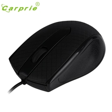 CARPRIE USB Wired Optical Gaming Mice Mouse For PC Laptop BK Mar7 MotherLander