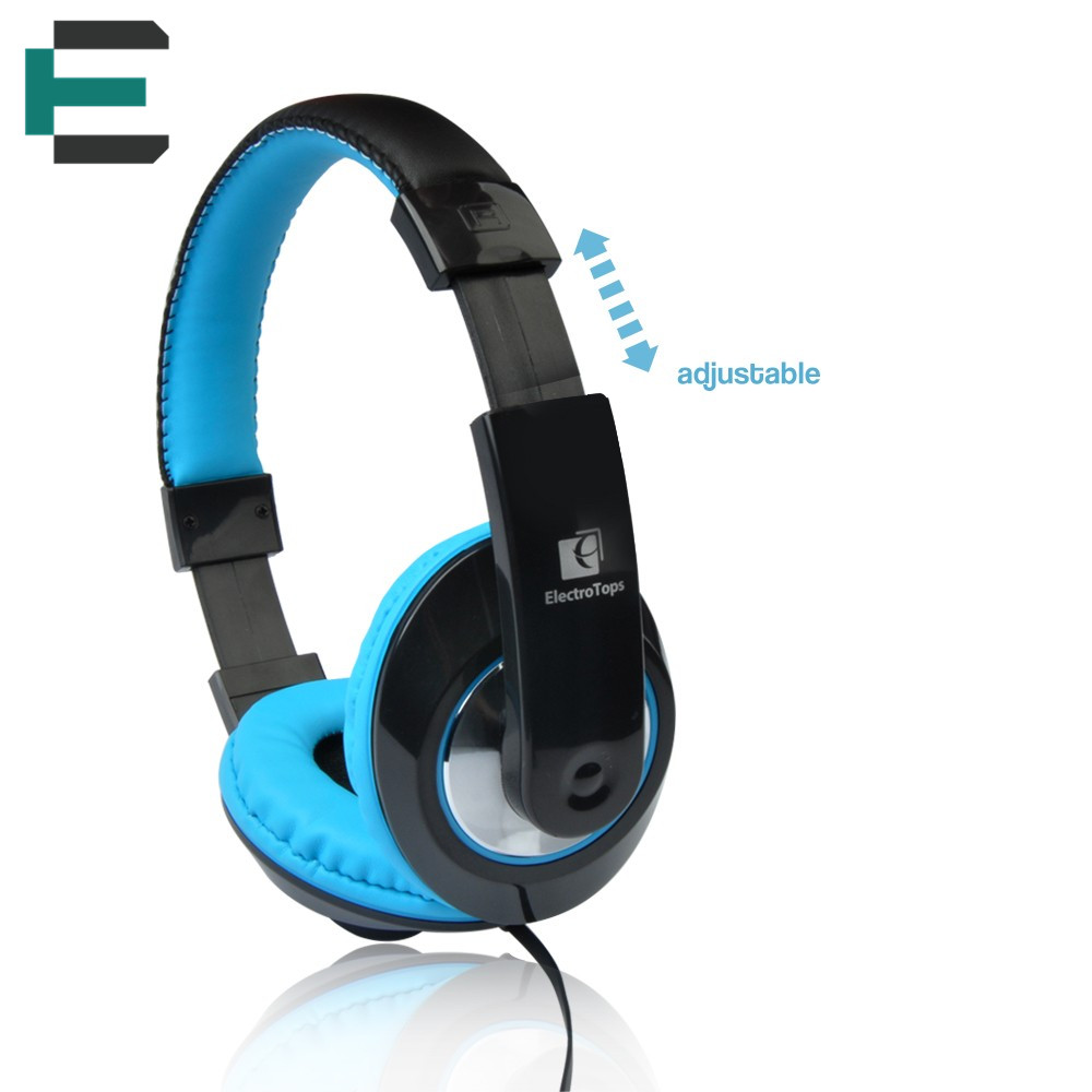 Headband 1.2m 3.5mm wired headphone adjustable stereo earphone AUX-in HD sound garnish headphones for PC phone Mp3 music player<br><br>Aliexpress