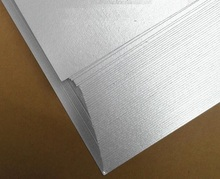 50sheets/lot White Pearl laser printing name card paper, 250gsm white A3/A4 card paper