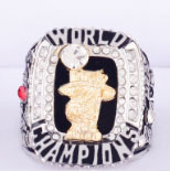 The Best Quality 2012 Miami Heat Basketball custom sports Replica world Championship Ring for fans(China)