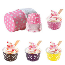 20pcs/lot Paper cake ice cream Disposable cups christmas party halloween Baking supplies new Year decoration Kitchen supplies