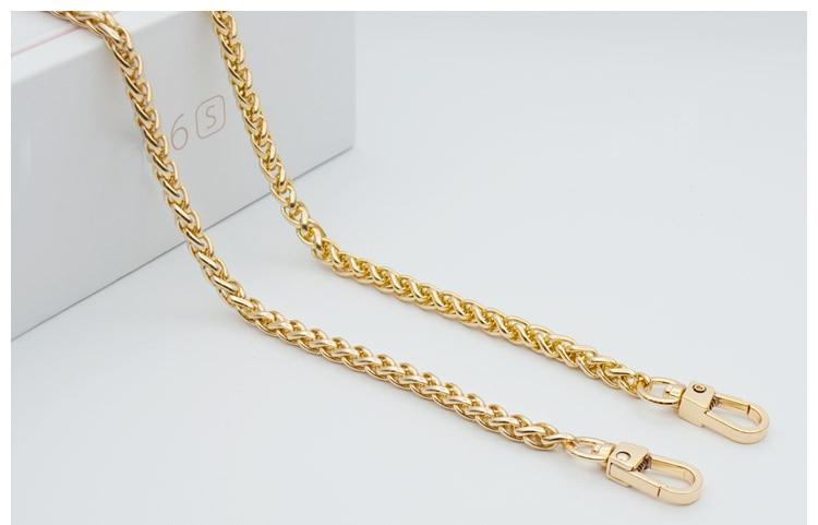 woman fashion bags accessory chain fashion new wallet accessroies chain handbag Solid Chain handle shoulder bag strap (3)