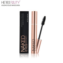 2017 NEW HOT-SELL Brand HERES B2UTY 3D Fiber Long Lash Waterproof Lengthening Thick Cosmetics Black Mascara High Quality