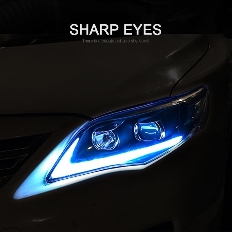 CNSUNNYLIGHT For Toyota Corolla 2011 2012 2013 Car Headlights Assembly With LED DRL Turn Signal Lights Plug & Play Head Lights (7)