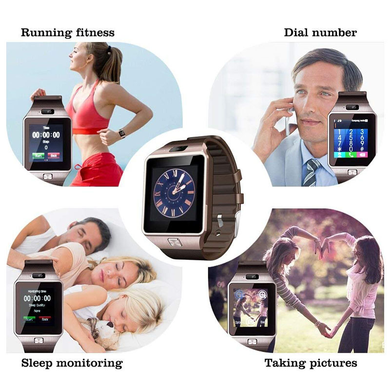 Pedometer Step Counter Heart Rate Calorie Monitor Wrist Watch Sports Fitness Watches Blood Pressure Smart GPS Digital Waterproof (1)
