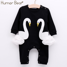 Humor Bear New Infant Jumpsuit Baby Suit Christmas Newborn Baby Girl Clothes Girls Cartoon Design Baby Clothing Sets