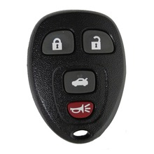 REMOTE KEY SHELL FOR G-M PONTIAC BUICK KEYLESS ENTRY CASE 4 BUTTON RUBBER PAD NEW