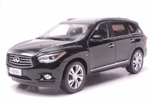 * Black 1/18 Infiniti QX60 2014 Diecast Model Cars Hot Selling Alloy Scale Models Limited Edition