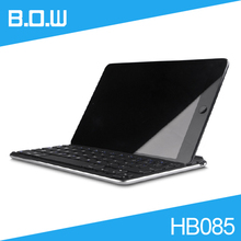 [Free DHL] Original B.O.W HB085 Ultra Slim Aluminum Bluetooth Keyboard for iPad mini/mini2 Top Quality - 30pcs