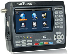 Оригинал Satlink WS-6951 DVB-S/S2 HD Satellite Finder с MPEG-2/MPEG-4 соответствует и подсветка Satlink 6951 м(China)