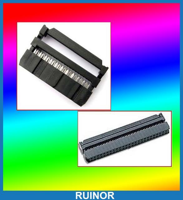 50pcs IDS Female 34 Pin 40 Pin 64 Pin 50 Pin IDC Socket<br><br>Aliexpress