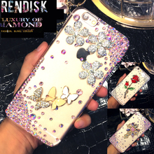 Beautiful Diamond Rhinestone Case Jewelled Bling cover For Samsung Galaxy J2 2015 J200 Crystal cases 28 Style