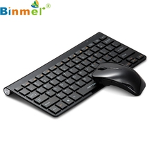 Binmer New G9800 Gold Color Wireless Keyboard And Mouse Set For Macbook(China)