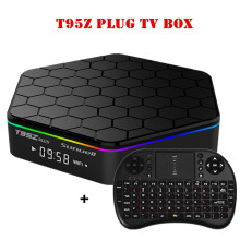 Sunvell T95Z Plus Android 6.0 Smart Box Amlogic S912 Octa Core 4K x 2K H.265 Decoding 2.4G+5G Dual Band WiFi Media Player TV Box