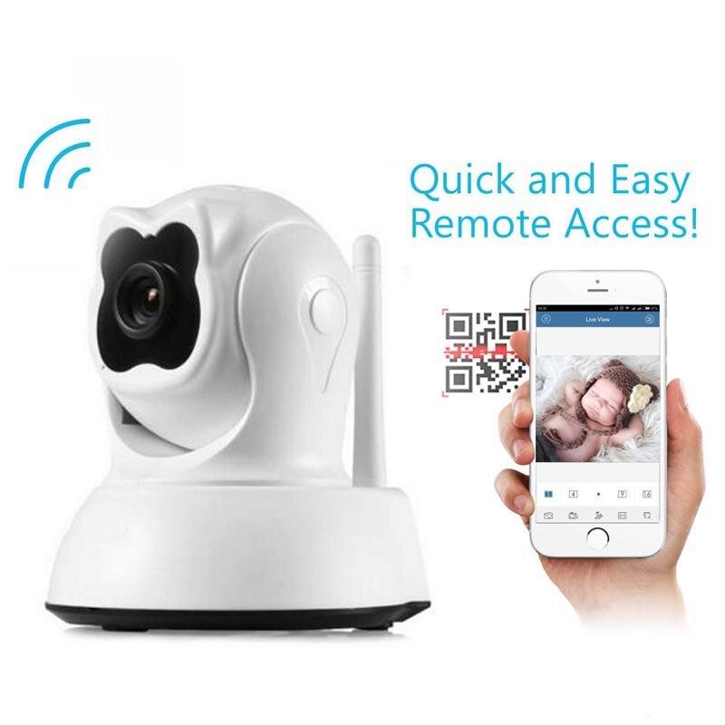 720P HD IP Camera Wi-Fi Wireless Baby Monitor Intercom Infrared CCTV Surveillance Camera support iOS Android PC <br>