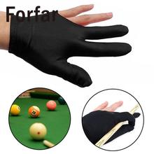 Forfar 3-Finger Glove Left Hand Sport Billiard/Yoyo Gloves Specialized Original Disign High Quality Practical(China)