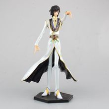 Anime Code Geass R2 Lelouch Lamperouge Britannia Knight of Zero Emperor Ver. PVC Action Figure(China)