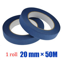 UV resist  Blue Color  Painters Masking Tape For 3D Printer Heat Tape Resistant High Temperature Polyimide Adhesive Tape