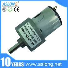 ASLONG Wholesale JGB37-3030 Low Noise Gearbox Motor Reductor 550 rpm Motor Robot High Torque Low rpm Motor 12v Gear Motor