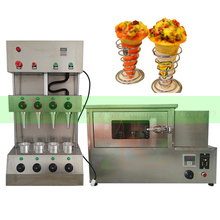 Automatic pizza cone making machine/Pizza cone maker/Pizza cone molding machine(China)