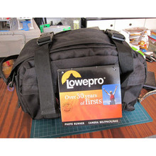 Free Shipping NEW High Quality Lowepro Photo Runner DSLR Camera Bag Waist Pack & Rain Cover(China)